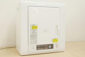 HITACHI/日立 電気衣類乾燥機 DE-N40WX 乾燥容量4kg ふんわりガード 待機時消費電力ゼロ 左開き ピュアホワイト 2020年製