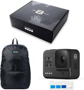 新品保証☆GoPro/ゴープロ HERO8ウェアラブルアクションカメラ 初回限定BOX CHDHX-801-FWB + 非売品ステッカー CHDHX-801-FW Black