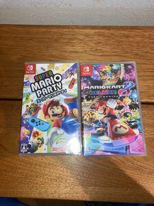 マリオカート8デラックス スーパーマリオパーティ Nintendo Switch ニンテンドースイッチソフト Switchソフト