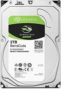 PC向け 3.5インチ D : 3TB Seagate BarraCuda 3.5インチ 3TB 内蔵ハードディスク HDD 2