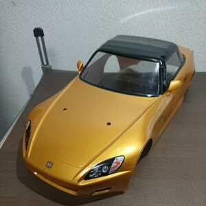 タミヤ 1/10 ホンダ S2000 ラジコンボディ Mシャーシ