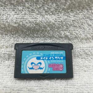 GBA ゲームボーイアドバンスソフト メイドインワリオ