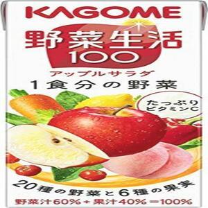 【在庫限りです】 カゴメ 野菜生活100 アップルサラダ 200ml×24本