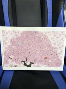 【新品・未開封】村上隆ジグソーパズル桜とカイカイ&キキ1050ピースJigsaw Puzzle /Cherry Blossom with Kaikai & Kiki