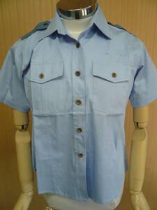 (タイプC シャツ) 撮影用 婦人 青Yシャツ 半袖 Lサイズ