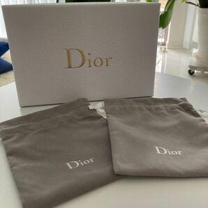 Dior巾着袋☆*。 ディオールポーチ Dior ノベルティ クリスチャンディオール