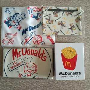 マクドナルド 福袋 ビッグスマイルバック 商品無料券なし