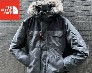 ◆モデル出品◆新品 Lサイズ ノースフェイス ゴッサム パーカー付グースダウンジャケット550 The North Face GOTHAM 3 JACKET RTO グレー