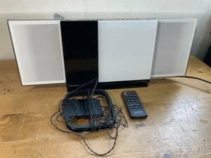 Panasonic パナソニック D-dock CD コンパクト ステレオ システム コンポ SC-HC37 純正リモコン付