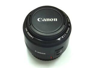 Canon 単焦点レンズ EF50mm F1.8 Ⅱ フルサイズ対応 (Y-022)
