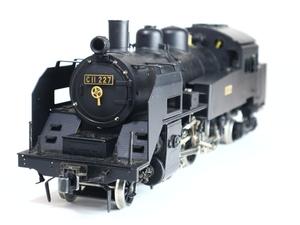 アスターホビー JNR C11 227 ライブスチーム 説明書付 鉄道模型 稀少 蒸気機関車 ASTER HOBBY
