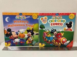 【 英語 絵本 】Mickey Mouse CLUBHOUSE フラップブック 2冊セットミッキーマウス クラブハウス