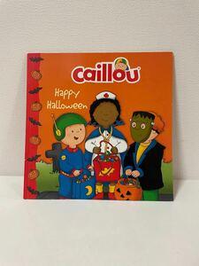 【 英語 絵本 】Caillou カイユー Happy Halloween