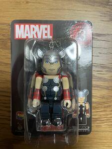 ベアブリック Happyくじ マーベル 100% ベアブリック賞 MARVEL BE@RBRICK medicom toy マイティ・ソー Thor avengers アベンジャーズ