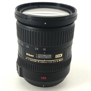 ニコン Nikon AF-S DX NIKKOR 18-200mm F3.5-5.6 G ED VR 一眼カメラ用(オートフォーカス) 【中古】