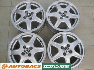 Volkswagen Golf 3 BBS made 07 15 -inch 6.0J+45 PCD100/4 hole [ used wheel 4 pieces set ]