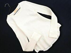 ネコポスOK B:MING BEAMS ビームス 長袖 カットソー sizeM/白 ◇■ ☆ bic2