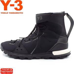 ■Y-3 TRAIL X スニーカー ブーツ 定価5.8万◆ワイスリー ハイカット Yohji Yamamoto ヨウジヤマモト adidas アディダス コラボ GroundY