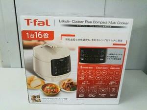 未開封品 T-fal ラクラ・クッカー プラス コンパクト電気圧力鍋 アイボリー 700W 【CY352AJP】 店舗受取可