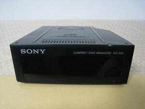 Sony Corporation  SONY 10 изменение Disk  CD ...   журнал  XA-250 N007