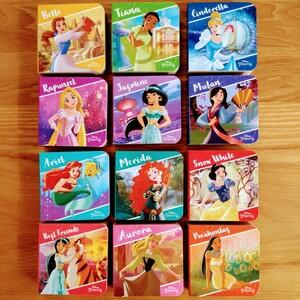 【新品】Disney プリンセス 英語絵本 ミニボードブック