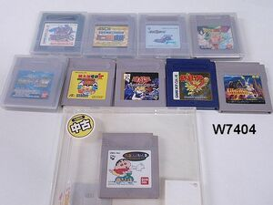 W7404S Nintendo GAME BOY ソフト まとめ 10本セット ゲームボーイカラー 任天堂
