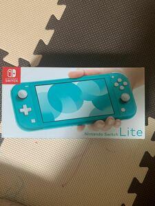 Nintendo Switch LITE スイッチライト 本体 ターコイズ 箱潰れ