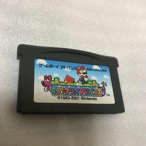 ゲームボーイアドバンス ソフト スーパーマリオアドバンス # DS DSライト アドバンス GBA