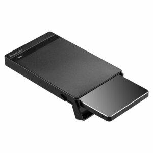 USB3.0 2.5インチ HDD/SSDケース sata接続 9.5mm/7mm厚両対応 UASP対応 簡単脱着