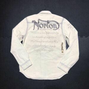 ★ Norton ノートン デニムシャツ 長袖シャツ M