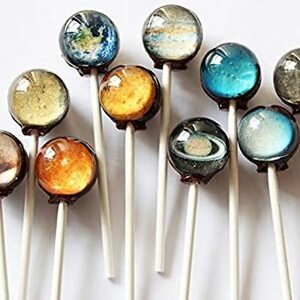 1本 (x 1) I Want Candy の【 惑星キャンディー 】Planet Lollipop (1個) 米国本店より直輸