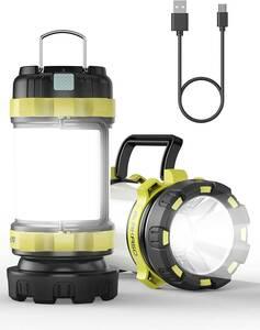 . LEDランタン キャンプランタン AKASO 高輝度 災害グッズ/アウトドア 非常用 停電対策 携帯型 超軽量 187