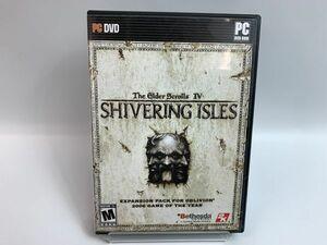 中古 ゲームソフト PCソフト The Glder Scrolls IV SHIVERING ISLES 海外版 2006 ゲームオブザイヤー 9-14