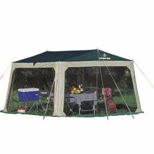 テント キャンプ タープ 虫除け 蚊帳 キャンプテンスタッグ メッシュ
