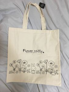 トートバッグ エコバッグ ミッフィー miffy フラワーミッフィー flower miffy