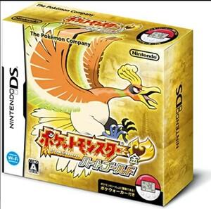ポケットモンスター ハートゴールド DSソフト 3DSソフト ポケウォーカー、外箱無し ソフト、ケース、説明書のみ