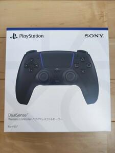 PlayStation5 DualSense ワイヤレスコントローラ PS5 ミッドナイトブラック CFI-ZCT1J01