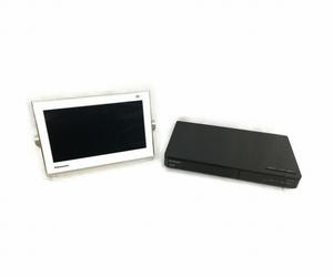 Panasonic パナソニック VIERA プライベート・ビエラ 10型 ポータブルテレビ UN-10TD6-W ホワイト 中古 T5879410