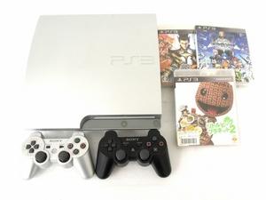 SONY PS3 PlayStation3 CECH-2500A プレイステーション 3 ソニー プレステ ソフト付き ゲーム機 中古 O5882740