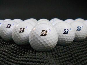 [I1F-06] BRIDGESTONE TOUR B XS 2020年モデル ホワイト 20球 ブリヂストン ロストボール