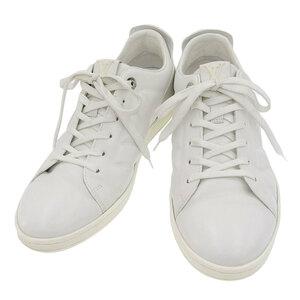 【本物保証】 ルイヴィトン LOUIS VUITTON スニーカー フューズレッジ ローカット ロゴ 靴 レザー ホワイト 5 1/2 メンズ