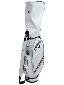 中古 【CALLAWAY】キャロウェイ『PU スポーツ ウィメンズ キャディバッグ 21 JM 8.5型』5121062 ゴルフバッグ 1週間保証
