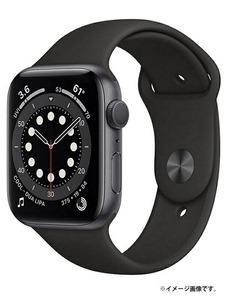 美品 【アップルウォッチ シリーズ6】【未開封】『Apple Watch Series 6 GPSモデル 44mm』M00H3J/A スマートウォッチ 1週間保証