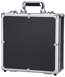 キーロック 耐衝撃性ツールボックス デジタルレンズ防湿ボックス アルミツールケース スーツケース タイプ:外寸34-33-14cm