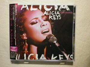 『Alicia Keys/Unplugged+2(2005)』(2005年発売,BVCP-21423,国内盤帯付,歌詞対訳付,Karma,Unbreakable,MTV,ライブ・アルバム)