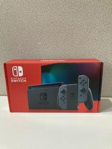 送料無料 新品未使用 Nintendo Switch グレー 新型ニンテンドースイッチ 任天堂スイッチ本体 Joy-Con 店舗印無し Switch本体 マリオネオン