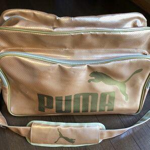 プーマ スポーツバッグ エナメル