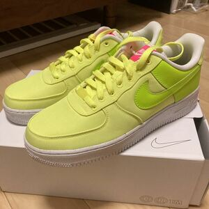 NIKE AIR FORCE 1 LOW エアフォース1 ナイキエアフォースワン イエロー US9 27cm BY YOU