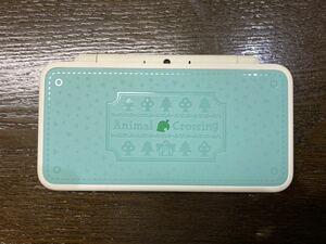美品  任天堂 Newニンテンドー2DSLL とびだせどうぶつの森 amiibo+パック Nintendo どうぶつの森本体