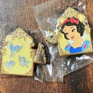 【日本未入荷!新品】ディズニー 白雪姫 ピンバッジ ピンバッチ ピンズ 香港 Disney ピントレ WDW パリ HKDL 限定
